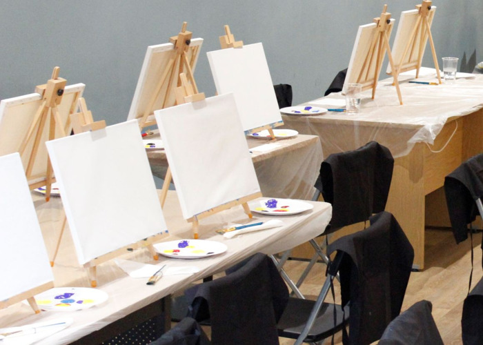 Table Easels for Art  - 1
