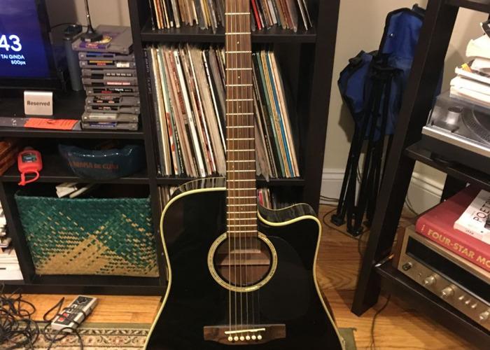 Takamine Acoustic / Electric Guitar EG531SC - 1