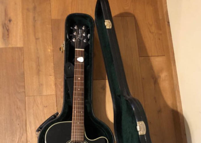 Takamine Dragon Series Electro Acoustic Guitar - 2