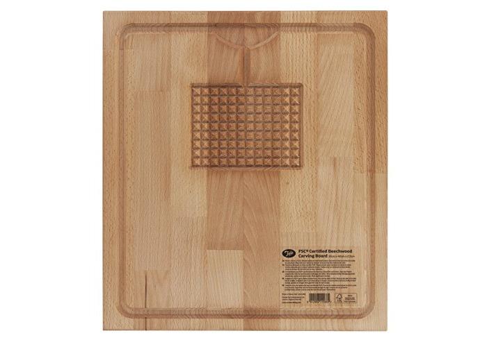 Tala Oiled Beechwood Carving Board - 1