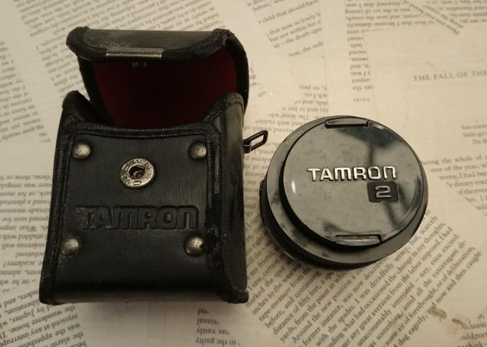 Tamron 2, 1:2.5mm, 28mm lens - 1