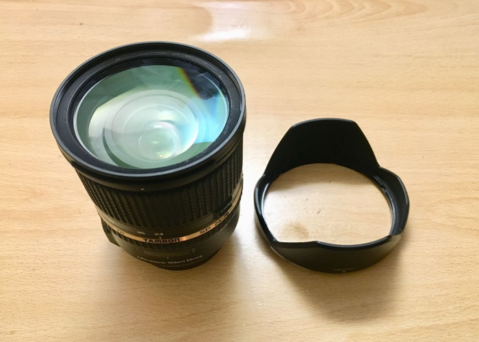 Tamron 24-70 mm F2.8 VC USD Lens for Canon - 1
