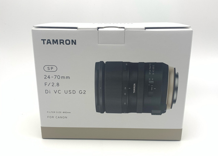 Tamron 24-70mm G2 VC lens - 2