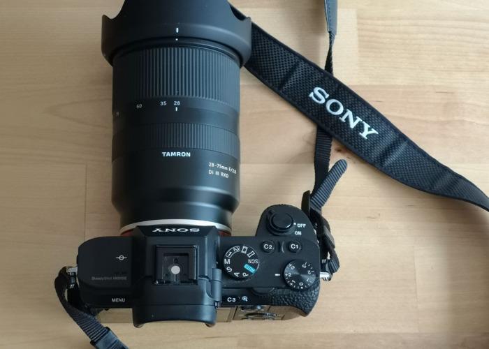 Tamron 28-75mm F2.8 for SONY FE full frame lens - 1
