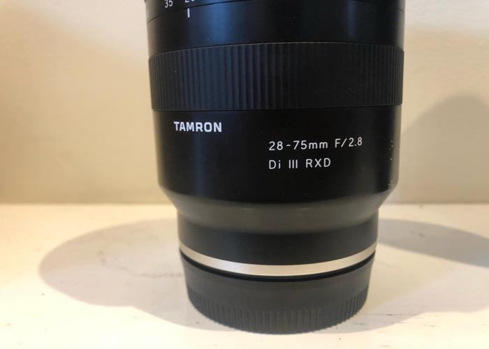 Tamron 28-75 f2.8 sony - 2