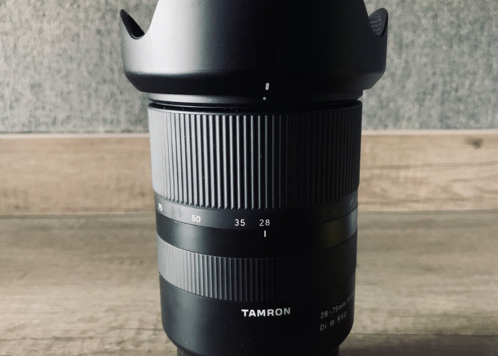 Tamron 28-75 mm F2.8 - 1
