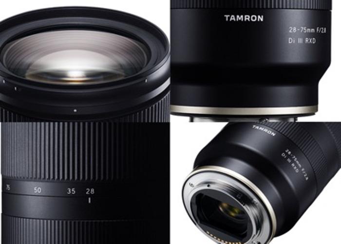 Tamron 28-75mm f2.8  - 2