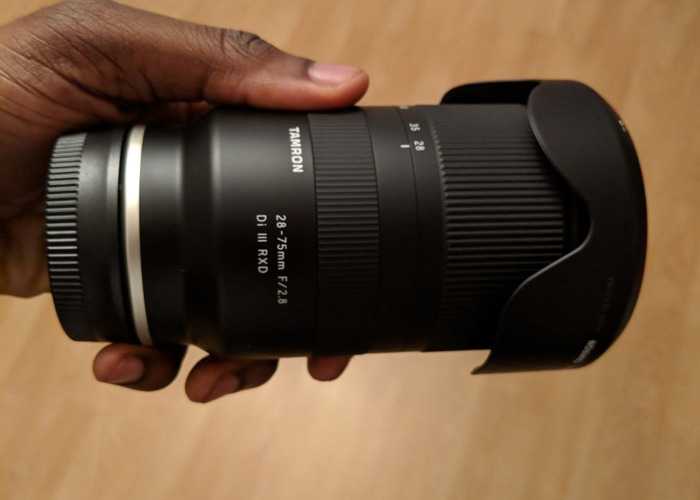 Tamron 28-75mm f2.8 Di III RXD (Sony Full Frame E Mount) - 1