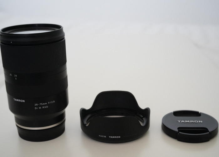 Tamron 28-75mm f/2.8 RXD Sony FE-Mount Zoom Lens - 2