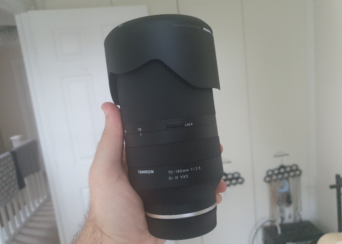 Tamron 70-180mm F2.8 sony E Mount - 1