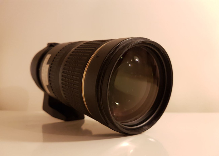 Tamron 70-200mm f2.8 VC - Canon mount zoom lens - 2