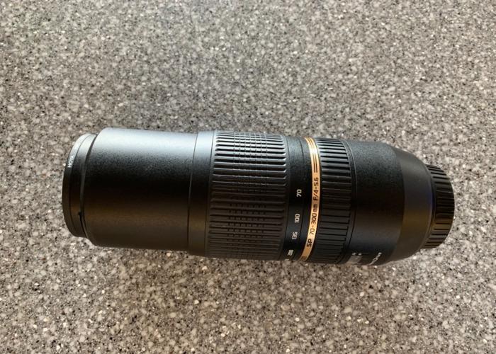 Tamron 70-300mm lens f4/5.6 - 2