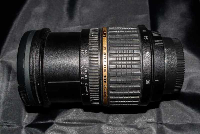 Tamron AF 17-50mm Lens for Nikon DX - 2