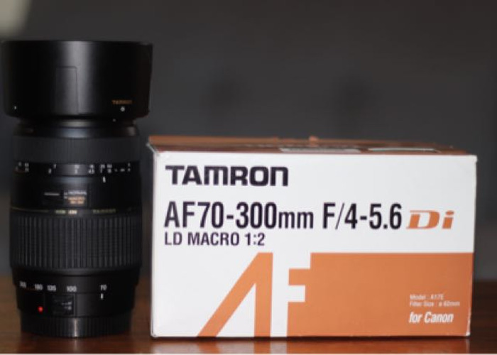 Tamron AF 70-300mm F/4-5.6 Di for Canon - 1