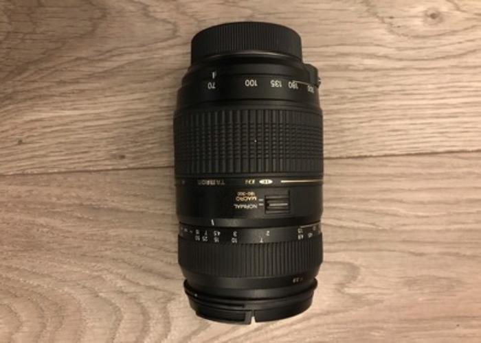 Tamron AF 70-300mm F/4-5.6 Di LD Macro 1:2 Nikon+Motor - 1