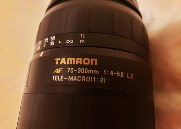 Tamron Lens and skylight 70-300mm 4-5.6 LD - 2