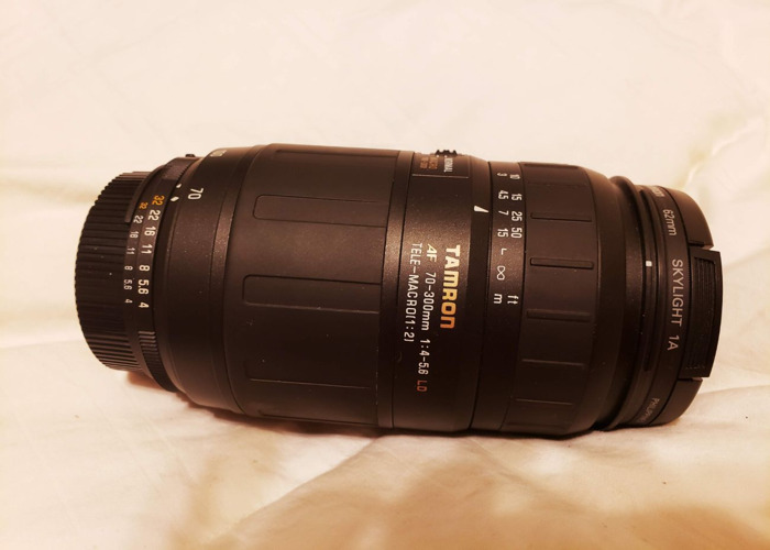 Tamron Lens and skylight 70-300mm 4-5.6 LD - 1