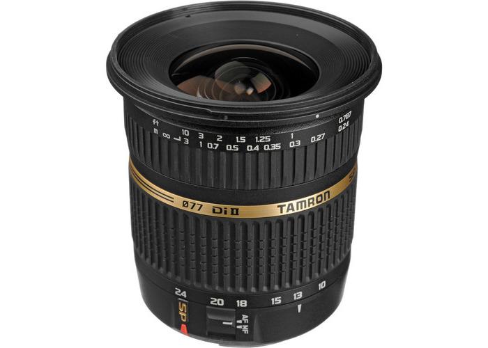 Tamron SP AF 10-24mm f / 3.5-4.5 DI II Zoom Lens For Canon DSLR Cameras - 1