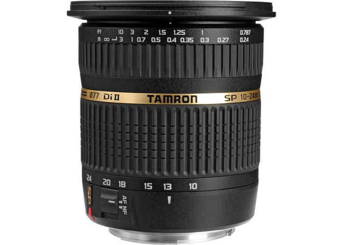 Tamron SP AF 10-24mm f / 3.5-4.5 DI II Zoom Lens For Canon DSLR Cameras - 2