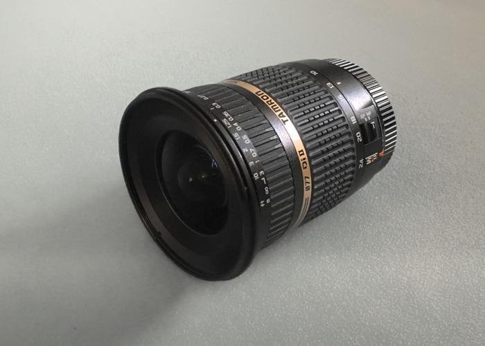 Tamron SP AF 10-24mm F/3.5-4.5 Di II LD Aspherical Lens (EF) - 1
