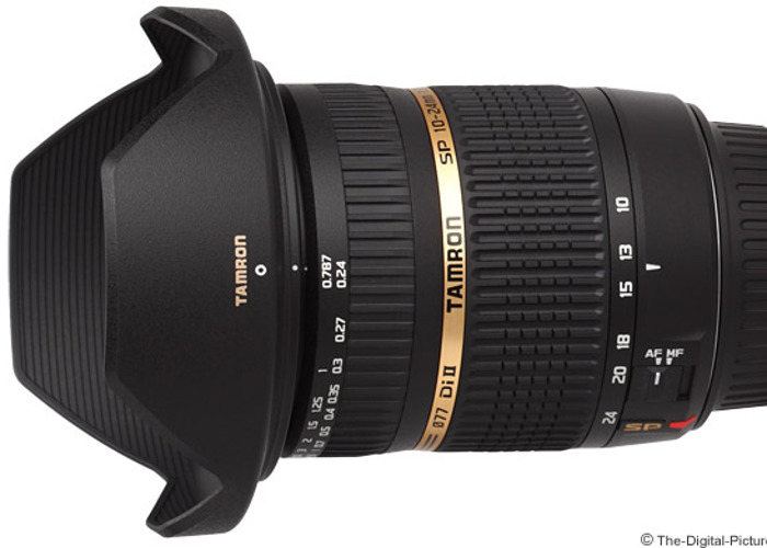 Tamron SP AF 10-24mm F/3.5-4.5 Di II LD Canon Fit - 1