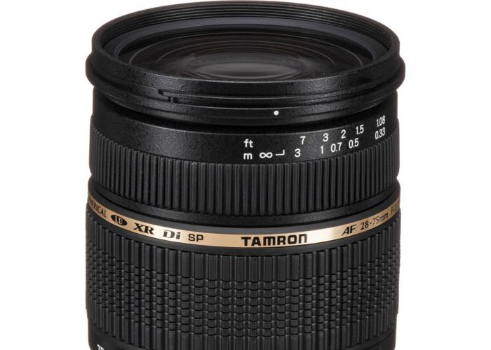 Tamron SP AF 28-75mm F/2.8 EF Canon Mount - 1