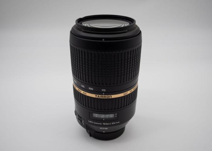 Tamron SP AF 70-300 F/4-5.6 Di VC USD Lens for Nikon - 2