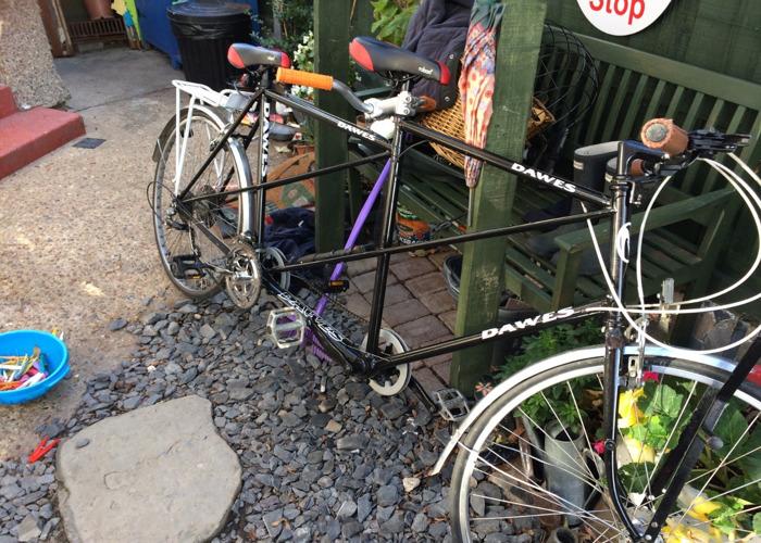 TANDEM bike  - 1