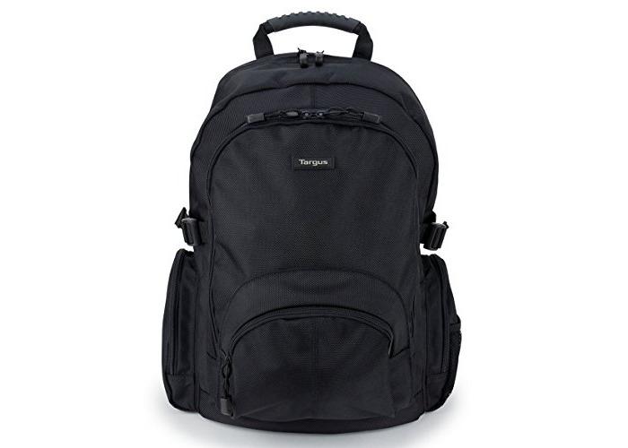 Targus Classic 15.6-Inch Laptop Backpack, Black (CN600) - 1