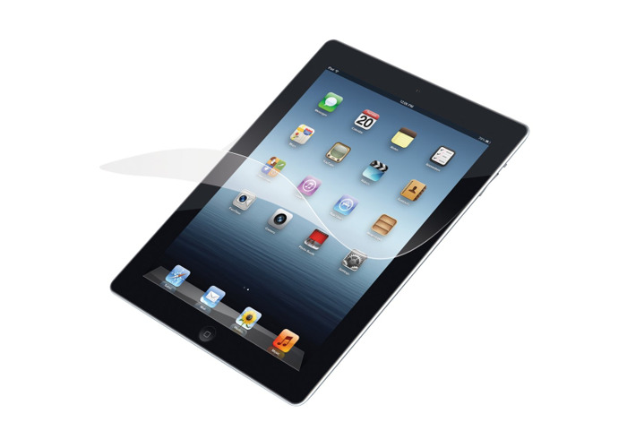 Targus Screen Protector with Bubble Free Adhesive for New iPad/iPad 2 - 2