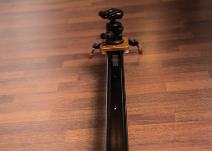 """TARION 47"""" Video Slider with Pivot Head for Video Cameras - 2"""