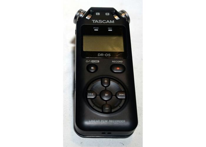 Tascam DR-05 Portable Audio Recorder - 1