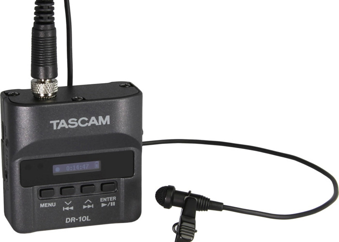 Tascam DR10 Audio Recorder  - 1