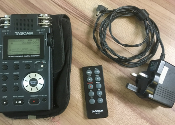 Tascam dr100 sound recorder zoom  - 2
