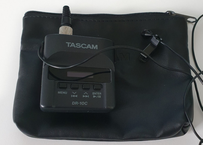 Tascam DR10C with Lapel and Extras  - 1