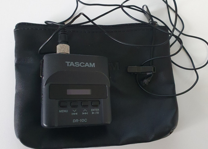 Tascam DR10c with Lav Microphone With Extras (2nd owned) - 1
