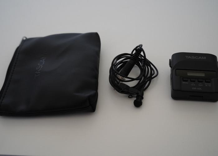 Tascam DR-10L + Tascam Lav Mic + 16GB Card + 2 AAA Batteries - 1