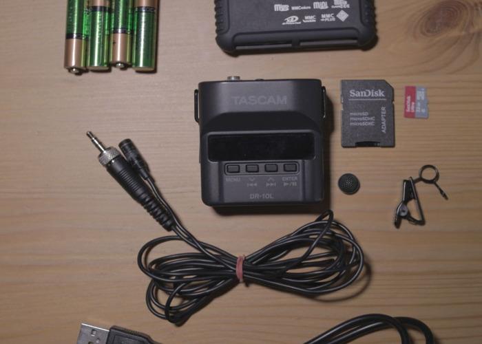 Tascam DR10L Lav Mic - 1