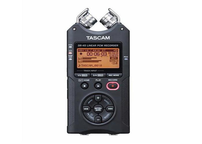 Tascam DR40 4-Track Recorder - 1