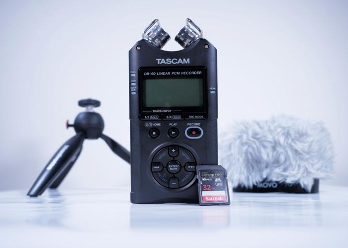 Tascam DR-40 Audio Kit - 1