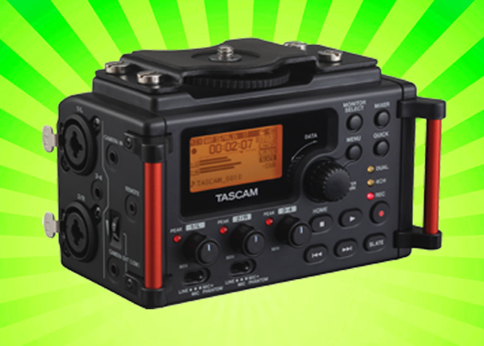 Tascam DR-60DMKII – External Audio Recorder for DSLR and Video Production - 1