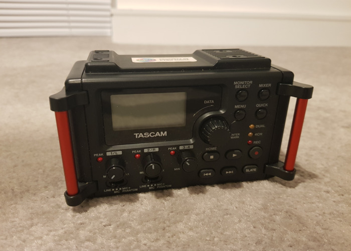 Tascam DR-60DMKII 4-Channel Portable Recorder - 1