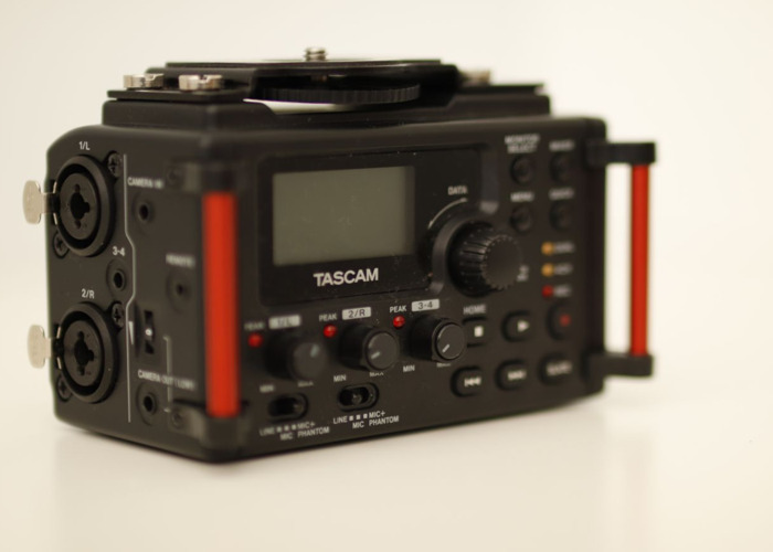 Tascam DR-60DmkII 4-Channel Portable Recorder for DSLR  - 2