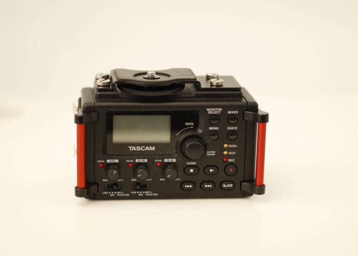 Tascam DR-60DmkII 4-Channel Portable Recorder for DSLR  - 1