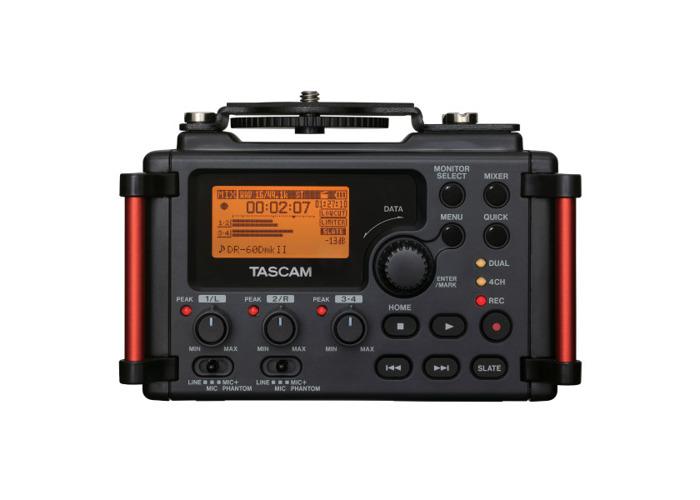 TASCAM DR60D-MKII 4-Track Recorder For DLSR Camera - 1