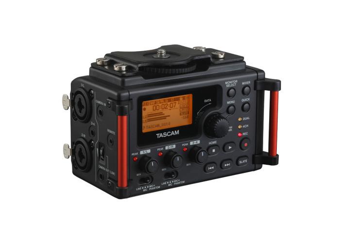 TASCAM DR60D-MKII 4-Track Recorder For DLSR Camera - 2