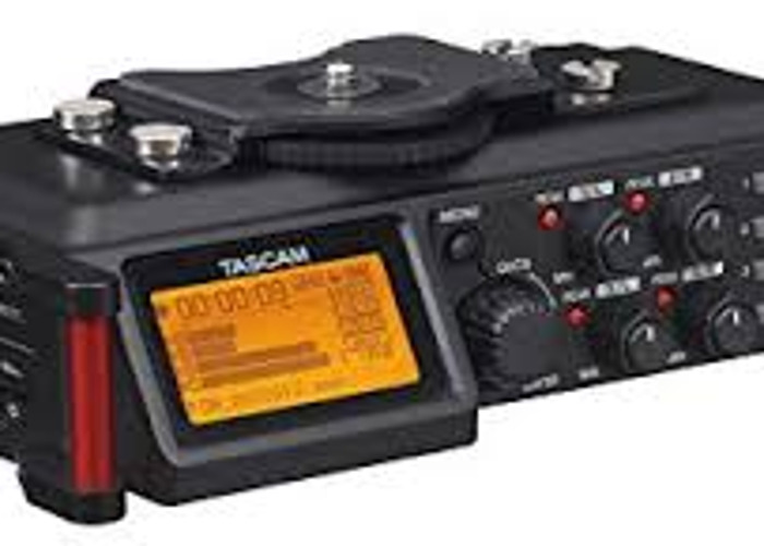 Tascam DR-70D 4 Channel Audio Recorder - 1