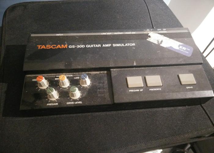 Tascam GS-30D Guitar Amp Simulator - 1