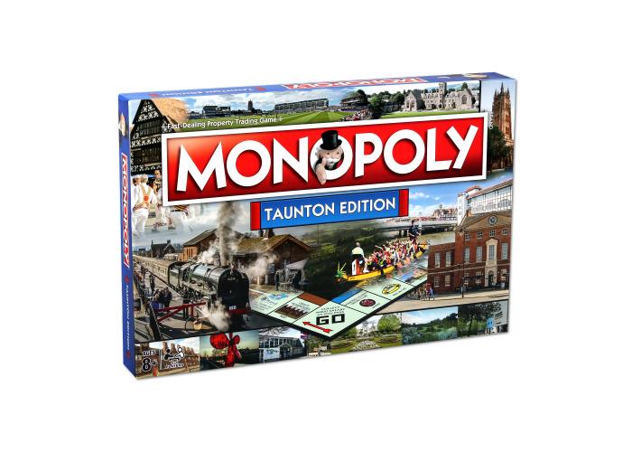 Taunton Monopoly Board Game - 2