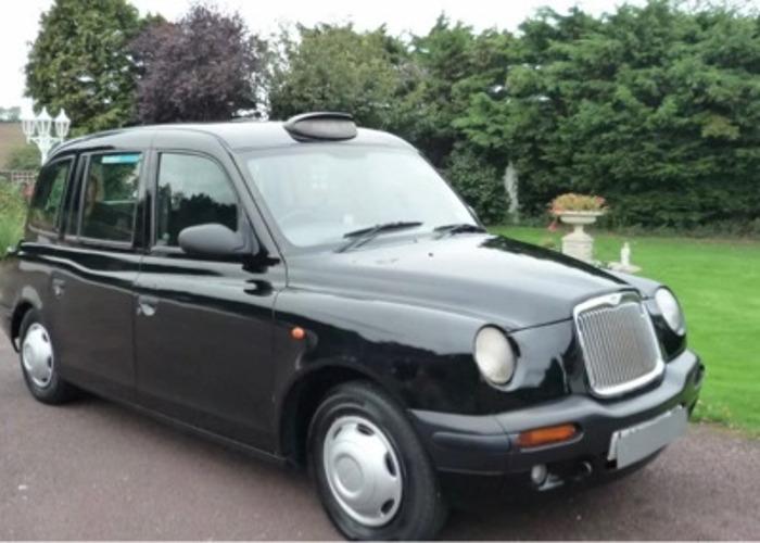 Taxi black cab  - 1